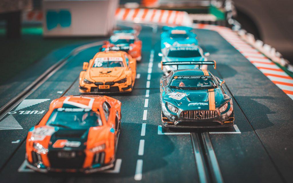 Rennfahrerparty mit Kindermobil24