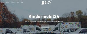 Kindermobil24 und Start Next als Team
