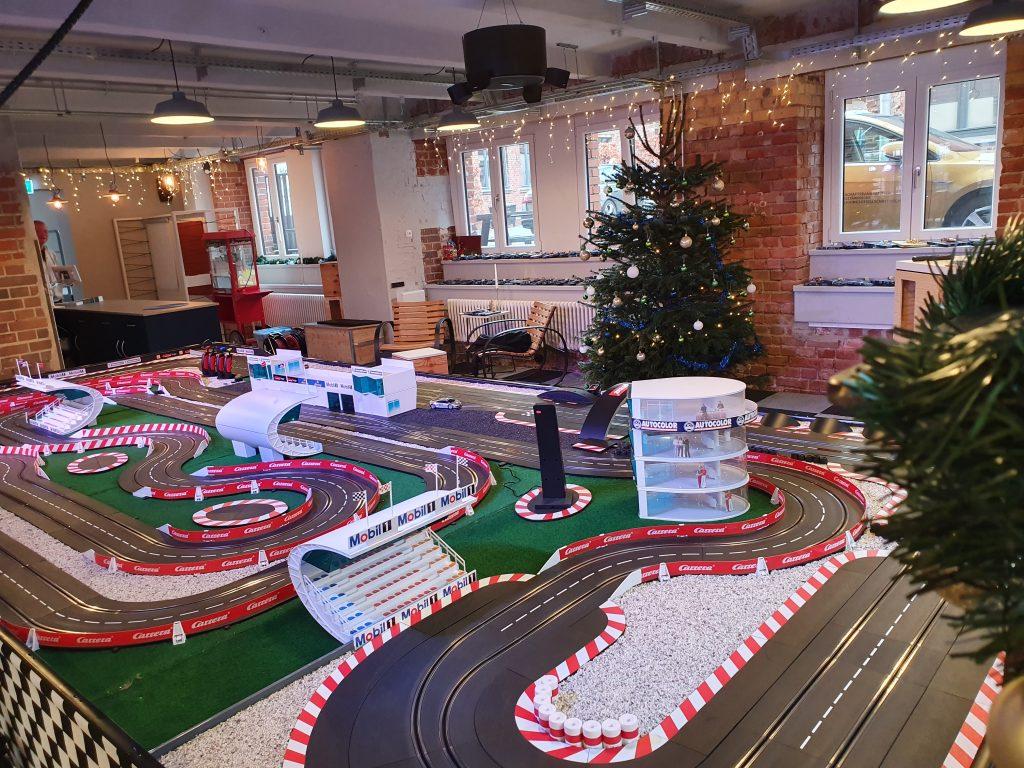 Carrera Bahn Weihnachtsfeier