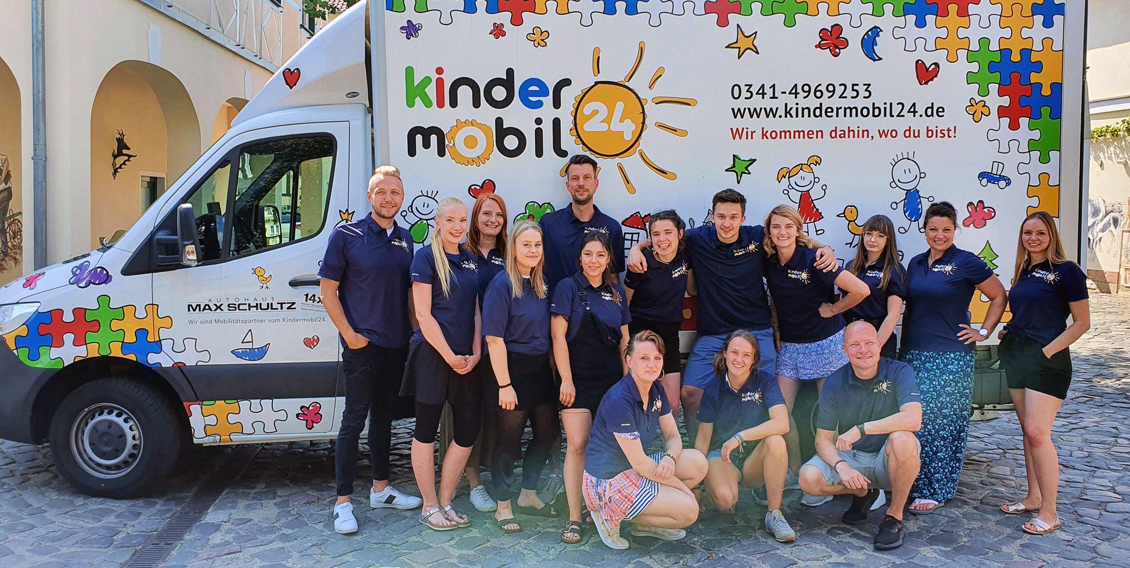Das Team von Kindermobil24 2020