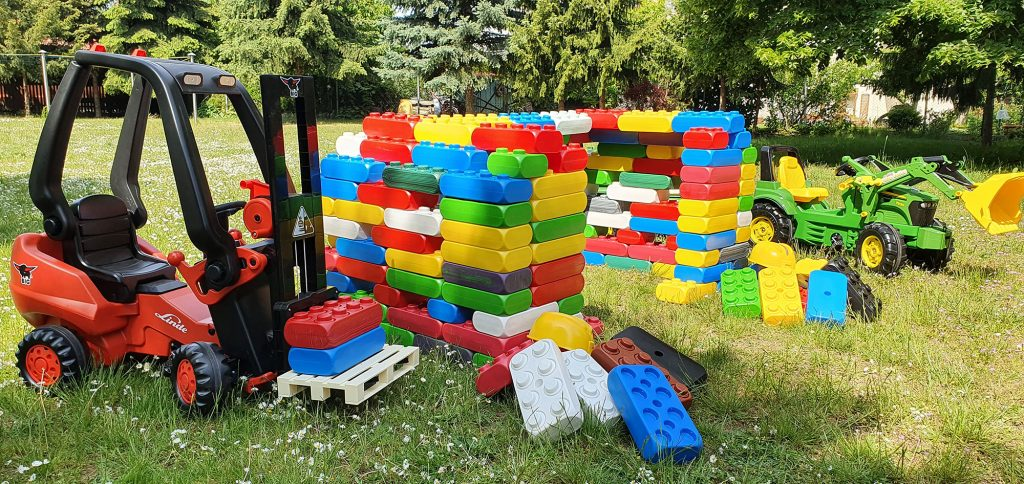 Baustellenparty mit Kindermobil24