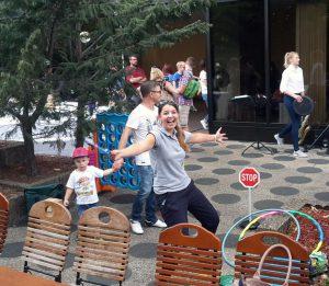 Kindermobil 24 beim Strassenfest