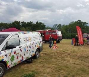 Kindermobil 24 mit Feuerwehrwagen