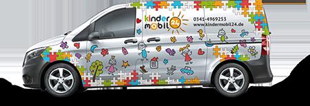 Der Kindermobil24 Van