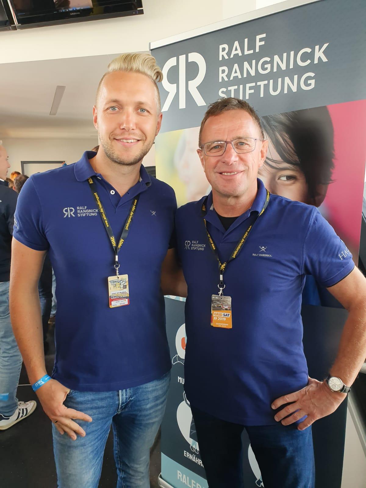 ADAC GT Masters auf dem Sachsenring mit Ralf Rangnick