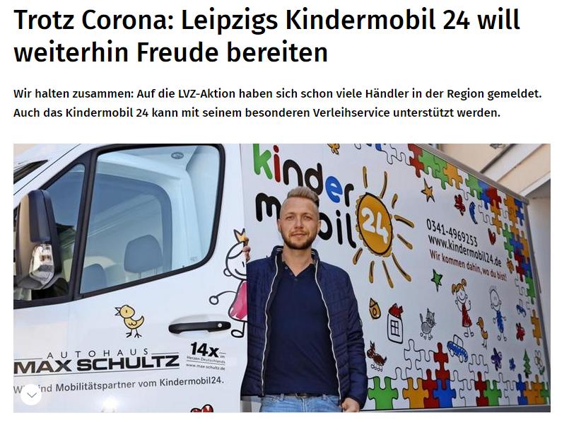 Leipzigs Kindermobil24 will weiterhin Freude bereiten